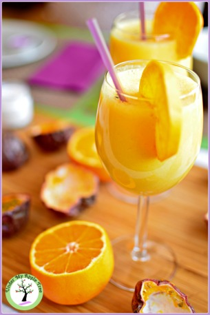 Smoothie mangue-passion-coco