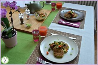 Des ingrédients simples et frais, pour une recette savoureuse. De belles couleurs, pour ravir vos yeux autant que vos papilles!