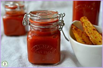 Ketchup épicé maison sans sucre raffiné