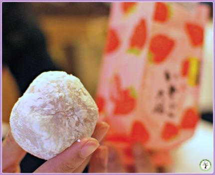 Recette de daifuku mochis fourrés de mangue